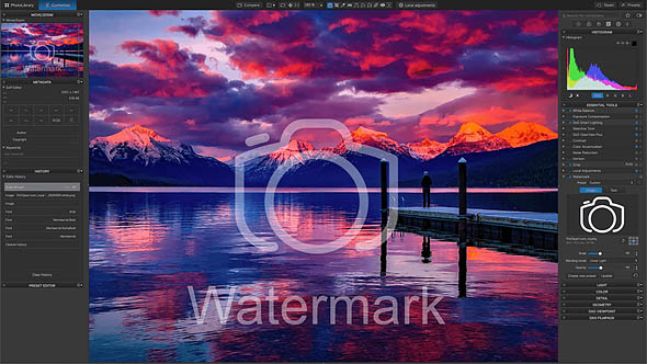 Screen DxO PhotoLab 4 Instant-Watermarking