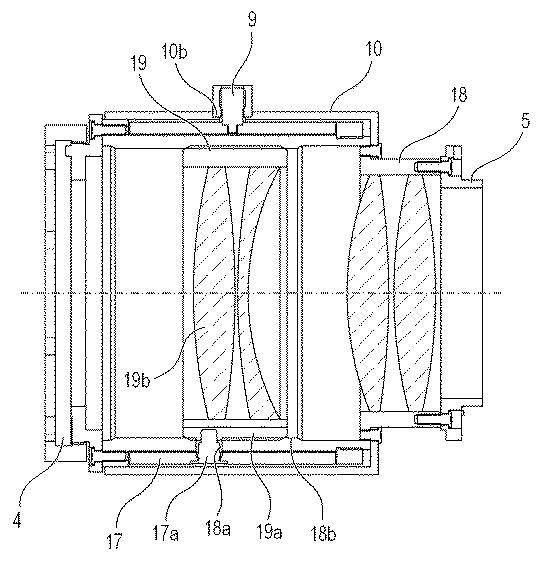 canon variable teleconverter patent structure