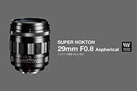 Cosina представлила Voigtlander Super Nokton 29mm F0.8